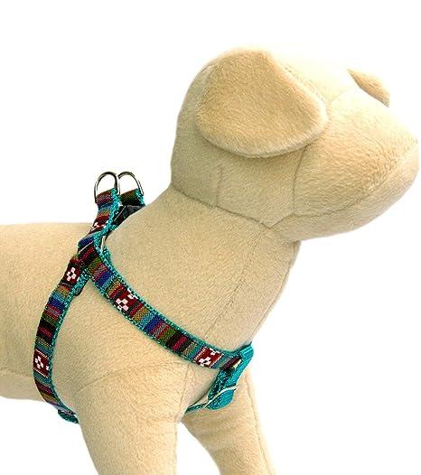Amazon.com : Southwestern topaz stripe dog harness : Tribal, Navajo