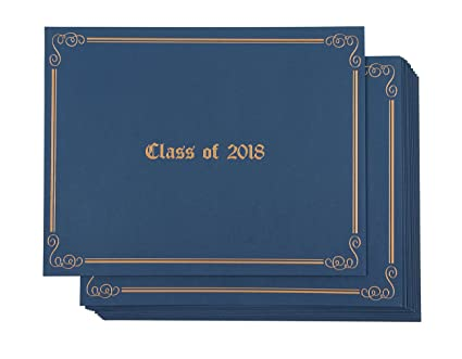 Amazon.com : Certificate Holder - 12-Pack Diploma Covers for ...
