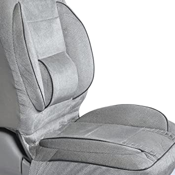 Amazon BackSaver Comfort Cushion Seat Cover With Built In Lumbar Support Automotive