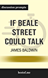 "Summary: ""If Beale Street Could Talk"" by James Baldwin 