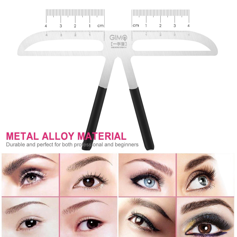 Amazon Professional Eyebrow Stencil Ruler For Eyebrows