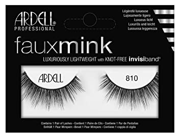 799842f2cb3 Amazon.com: Ardell Faux Mink #810 Black Lashes (3 Pack): Beauty