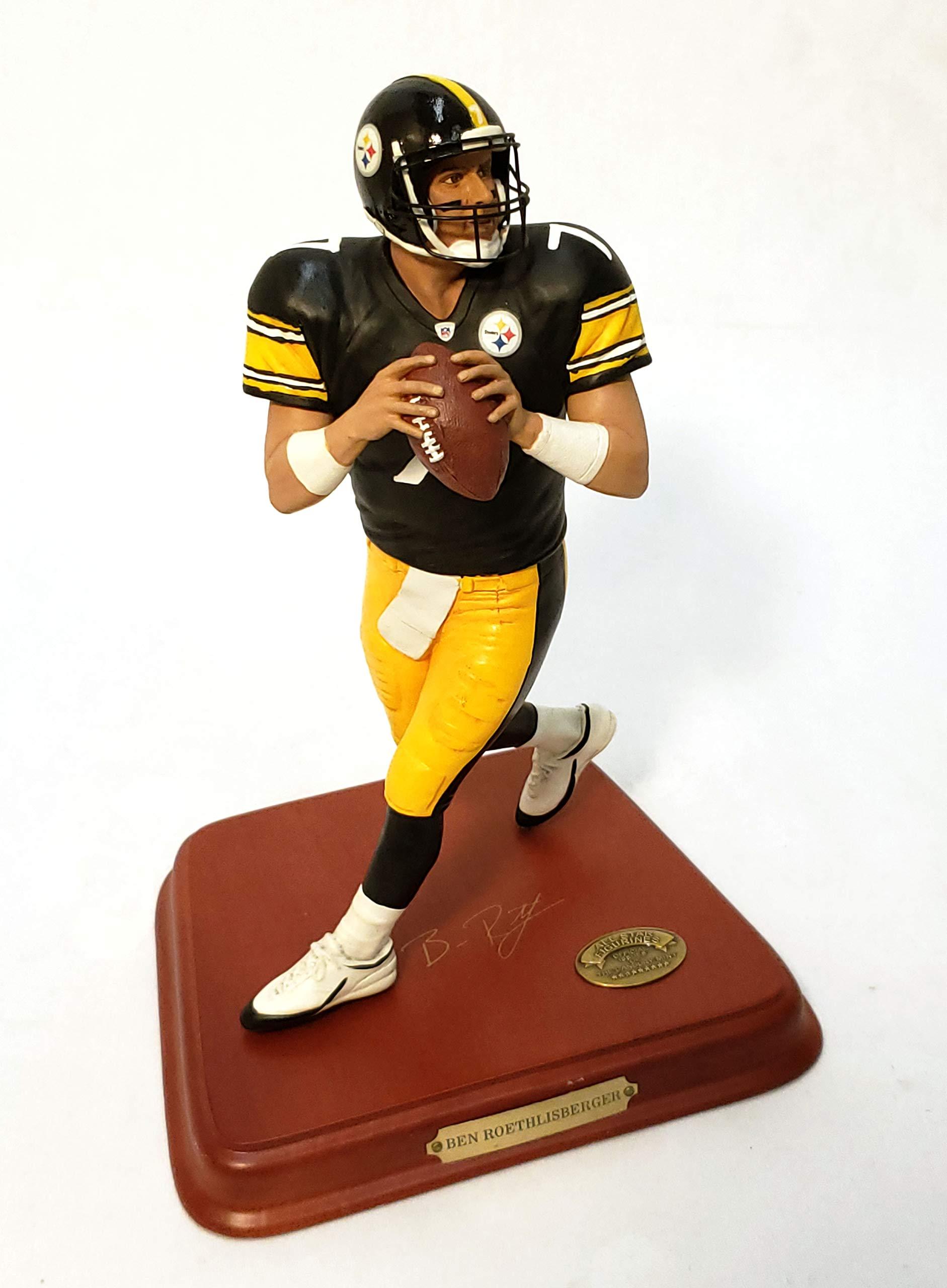 Pittsburgh Steelers Ben Roethlisberger Danbury Mint Statue Figurine w/COA