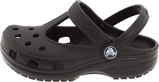 1c92ce63f Crocs Girls Candace Clog Black 10-11 M US Toddler CANDACE Shoes K