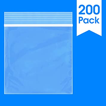 "1-1000 Bags 1.5/""*2/"" Polypropylene Bags New Clear 2Mil Plastic Seal Top ZipLock"