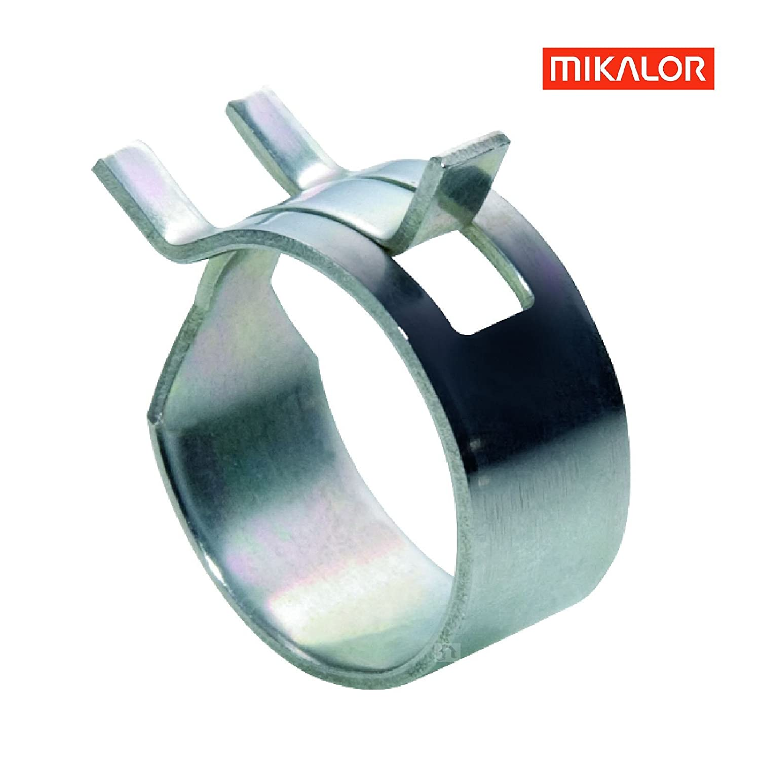 or Zinc Plated Mild Steel Stainless SteelRubber Lined P ClipsMikalor