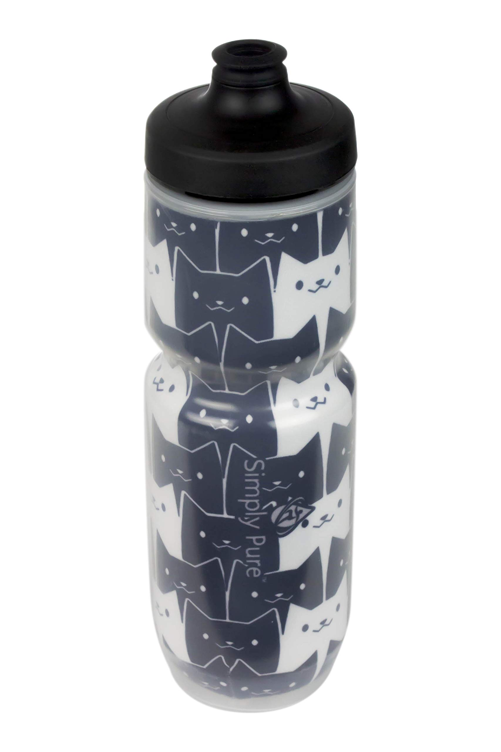 Cat One Size Watergate Cap Watergate Cap BPA Free Sport Bottle 20/% Colder Than Other Insulated Bottles Limited Edition Specialized Water Bottles Simply Pure Hydration Purist 23 oz Insulated Water Bottle
