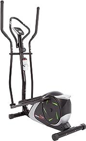 Ultrasport XT-Trainer 700M/800A Crosstrainer/Ellipsentrainer mit Handpuls-Sensoren inkl. Trinkflasche