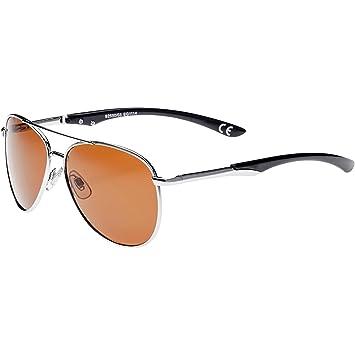 Maui Wowie Polarized Sonnenbrille, sh silver w/sh black tips,Größen: Einheitsgröße