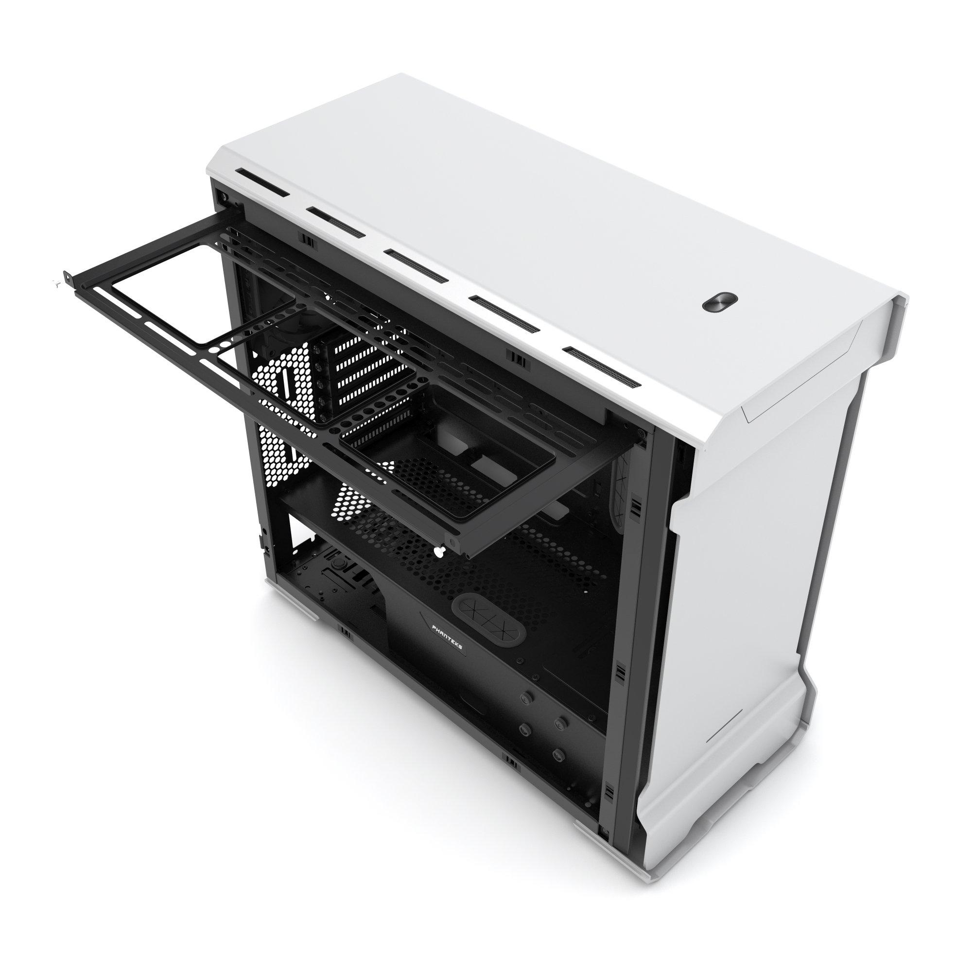 Phanteks Enthoo Evolv ATX Alum/Steel Tower Computer Case, Window (PH-ES515E_GS) Galaxy Silver by Phanteks (Image #7)