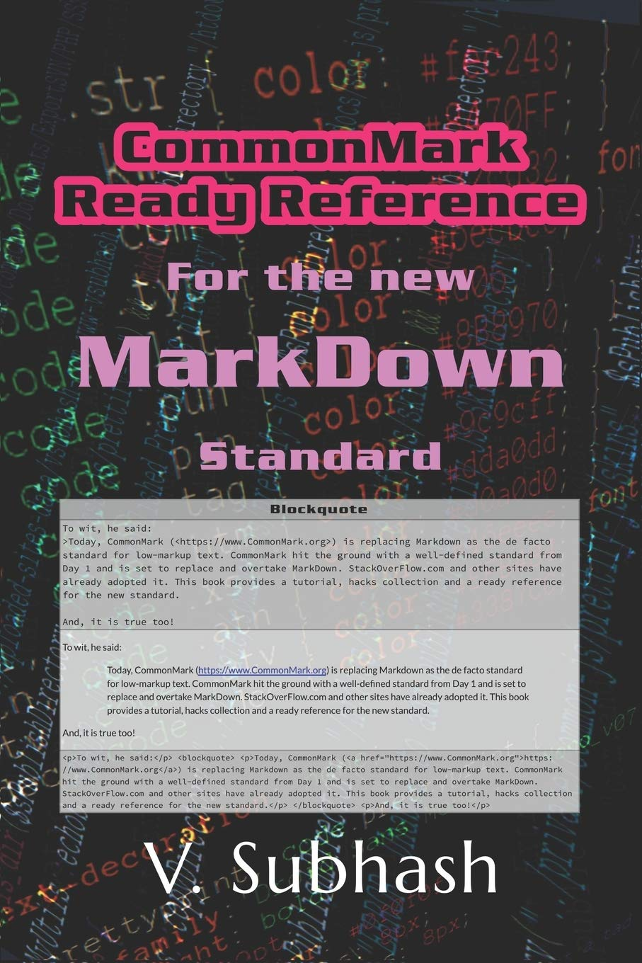 Stackoverflow markdown table