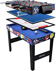 IFOYO 4 in 1 Multi Game Table for Kids, 31.5 Inch Steady Combo Game Table, Soccer Football Table, Hockey Table, Pool Table, Table Tennis Table, Pantent Product