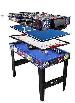 1b74ee4664b93b Table multi jeux 4 en 1 IFOYO de 122 cm, table de hockey, babyfoot,  billard, ping pong