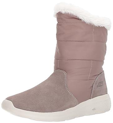 Grau On Schuhe Stiefel Damen The Go Skechers 2 City T0qx58P