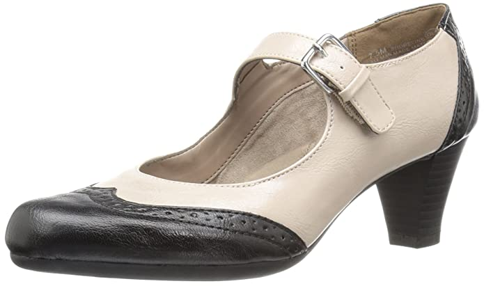 1920s Style Shoes Aerosoles Womens Shoreline Dress Pump $79.95 AT vintagedancer.com