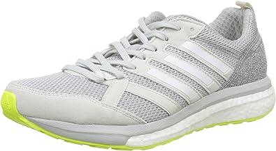 adidas Adizero Tempo 9 W, Zapatillas de Running para Mujer, Gris (Griuno/Ftwbla/Gridos), 37 1/3 EU: Amazon.es: Zapatos y complementos