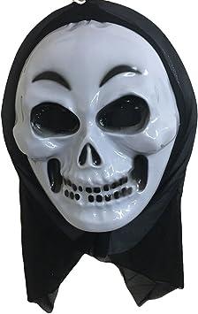Takestop® Juego 2 Máscara Máscaras Viso Esqueleto sonriente Scream ...