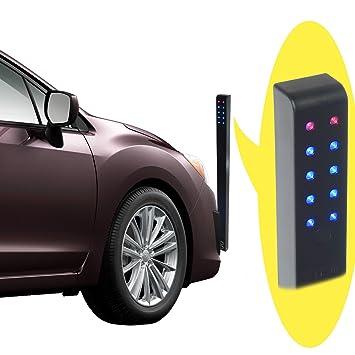 Asistente de aparcamiento para garaje o parking, para coche, sensor ajustable y programable, activado por movimiento, inalámbrico: Amazon.es: Coche y moto