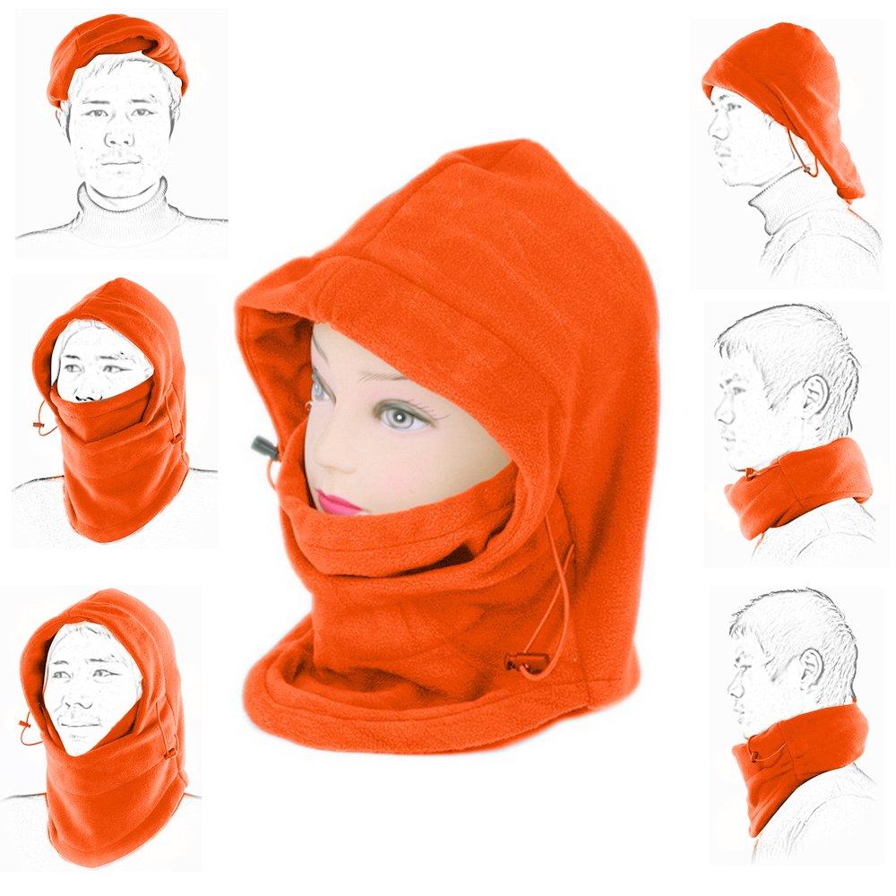 e863405e93a Ezyoutdoor Bucket Hat New Winter Windproof Thermal FLEECE Swat Ski Face  Mask Hat for Outdoor Sports