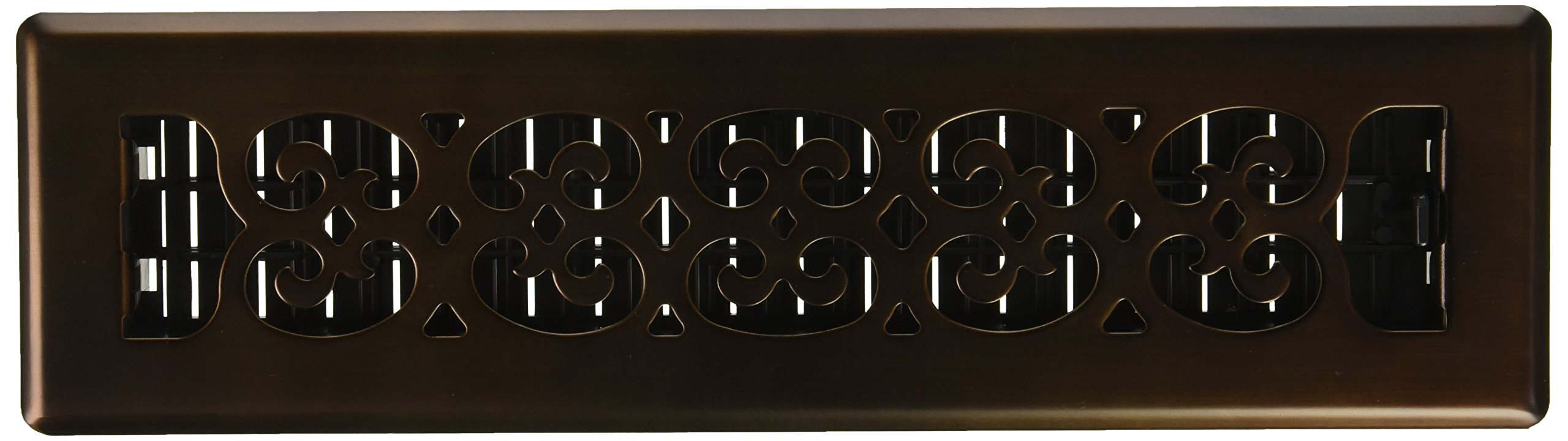Decor Grates SPH212-RB Scroll Plated Register, 2-Inch by 12-Inch, Rubbed Bronze by Decor Grates