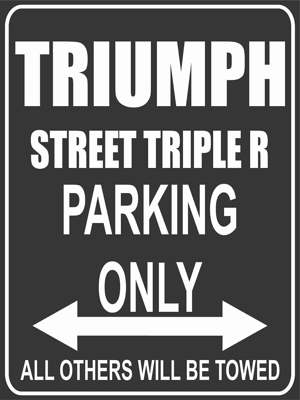 Parkplatz Parkplatzschild Triumph Street Triple R Parking Only