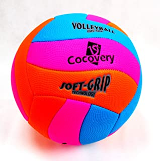 Balón Fútbol Playa-Neón-Cocovery19 (Azul): Amazon.es: Deportes y ...
