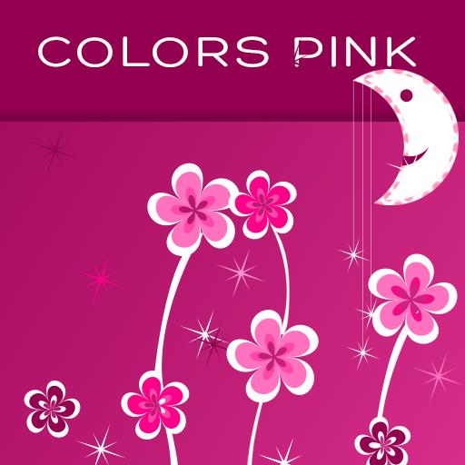 Keyboard Colors Pink