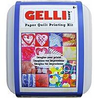 Gelli Arts–Plancha de impresión edredón de Papel, Material