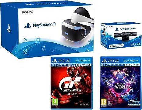 Playstation VR + GT Sport Pack Gran Turismo Sport + VR Worlds + ...
