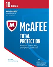 McAfee Total Protection | 10 Devices | PC/Mac/Android | Download - Latest Version