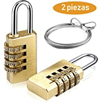 Candado de la Combinación de Seguridad, UZOPI 4