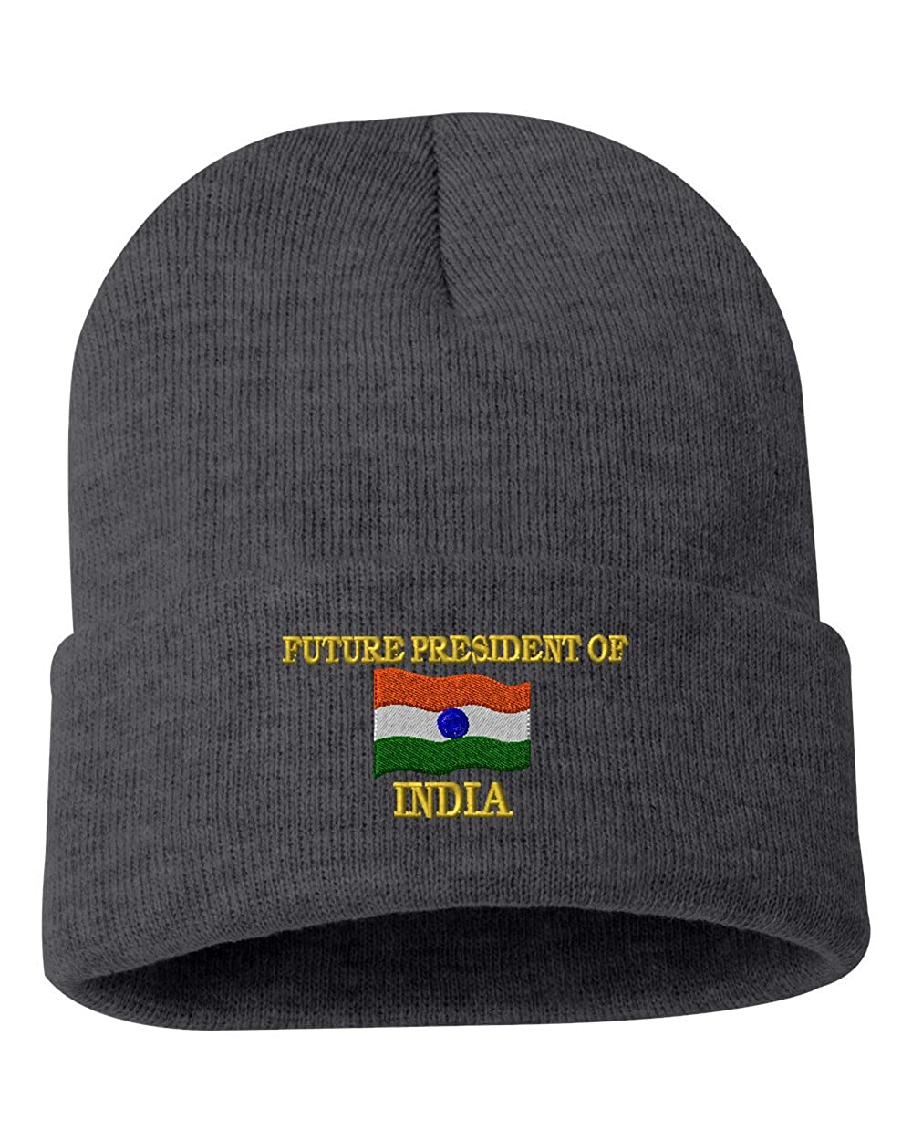 FUTURE PRESIDENT OF INDIA Custom Personalized Embroidery Embroidered Beanie