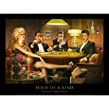 Four of a Kind Art Print by Chris Consani 32 x 24in