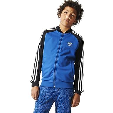 adidas - Chaqueta Deportiva - para niño Azul Oscuro 122 cm