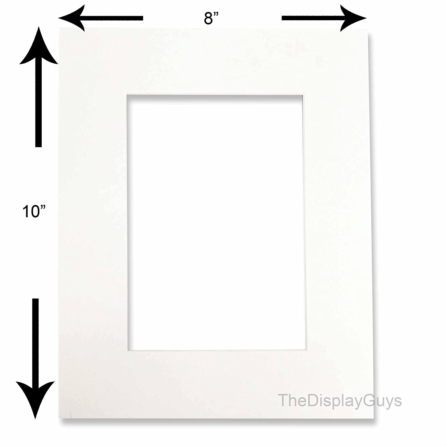 50pcs Back Board only The Display Guys 50pcs 8x10 inch Photo Picture Mat Board Backing Boards for Framing