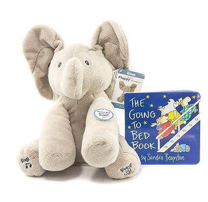 Amazon Com Gund Baby Animated Flappy The Elephant Plush Toy