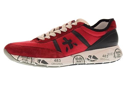 d59b210106 PREMIATA Scarpe Uomo Sneakers Basse Hanzo 2907 Taglia 41 Rosso ...