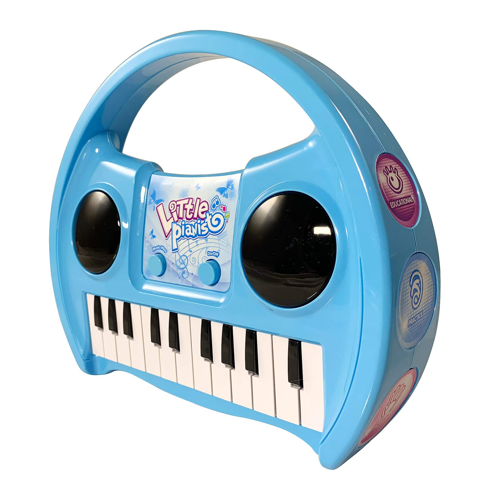 KidPlay Products Little Pianist Singing Musical Karaoke Lights Up Keyboard by KidPlay Products (Image #2)