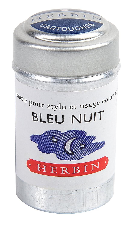 Herbin 20119T Inchiostro, Blu Notte, 4.2 x 2.3 x 2.3 cm