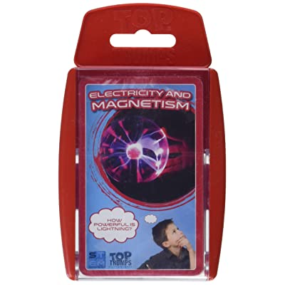 Electricity and Magnetism Top Trumps Card Game: Toys & Games