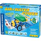 Thames & Kosmos Air + Water Power | Build 15 Pneumatic & Hydraulic Models | Powered by Air + Water | 48 Page Full Color…