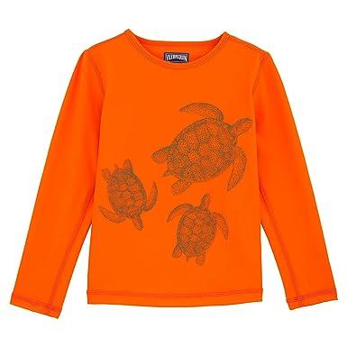 1136d4ad93d65 Vilebrequin T-Shirt Manches Longues Anti-UV Tortue Galuchat - Mixte Enfant  - 8
