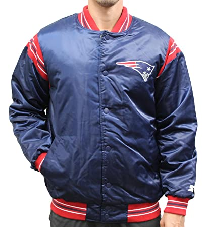 best cheap cdd09 681ab Amazon.com : STARTER England Patriots NFL Men's The Enforcer ...