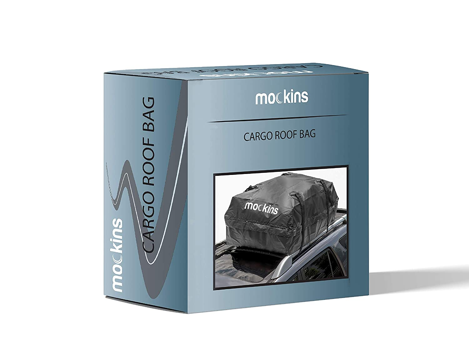Mockins Waterproof Cargo Roof Bag The Car Top Carrier Bag is Made from Heavy Duty Abrasion Resistant Vinyl and is 44 Long X 34 Wide X 18 High Giving You 15 Cu.ft.Capacity /… /… /… /… /… /… 4350438920
