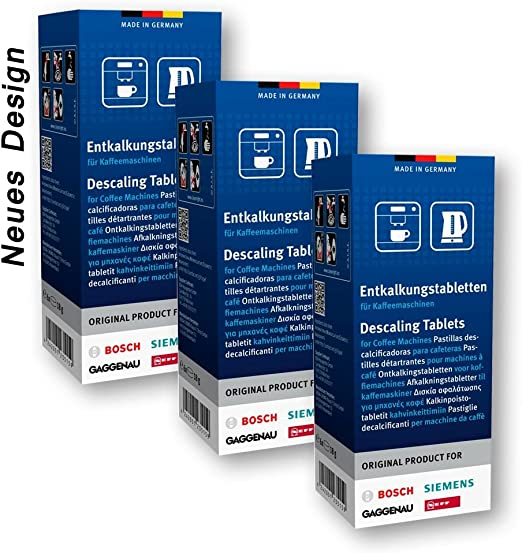 Amazon.com: BSH Descaling Tablets - Set of 3 - (3x 6 Tablets ...