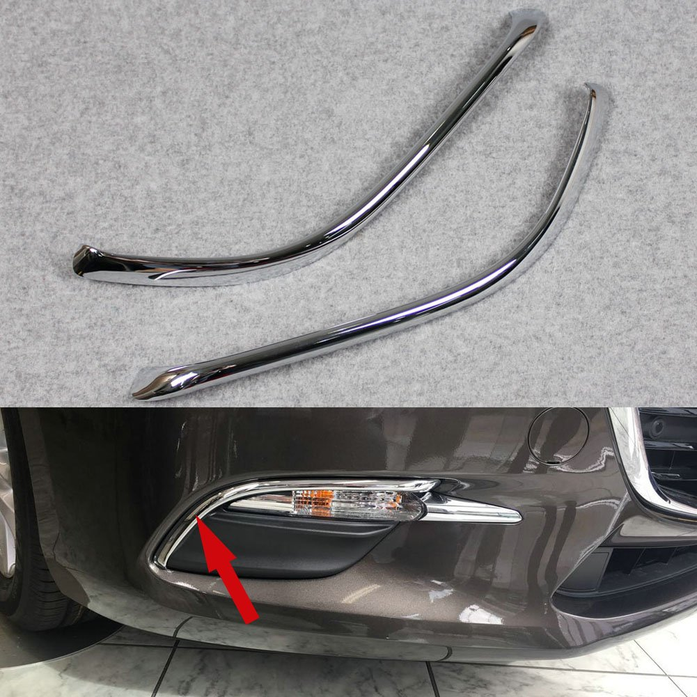 Beautost Chrome Front Fog Light Lamp Cover Bezel Trim Fit For Mazda 3 Axela 2017 Kate Wenzhou Automobile Supplies Factory
