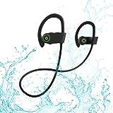 U8 Bluetoothイヤホン高音質スポーツ【IPX7 防塵防水マイク内蔵/CVC6.0ノイズキャンセリング】iPhone、Android各種対応