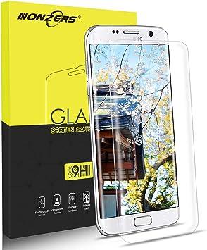 Protector de Pantalla para Samsung Galaxy S7 Edge,3D Full Coverage ...