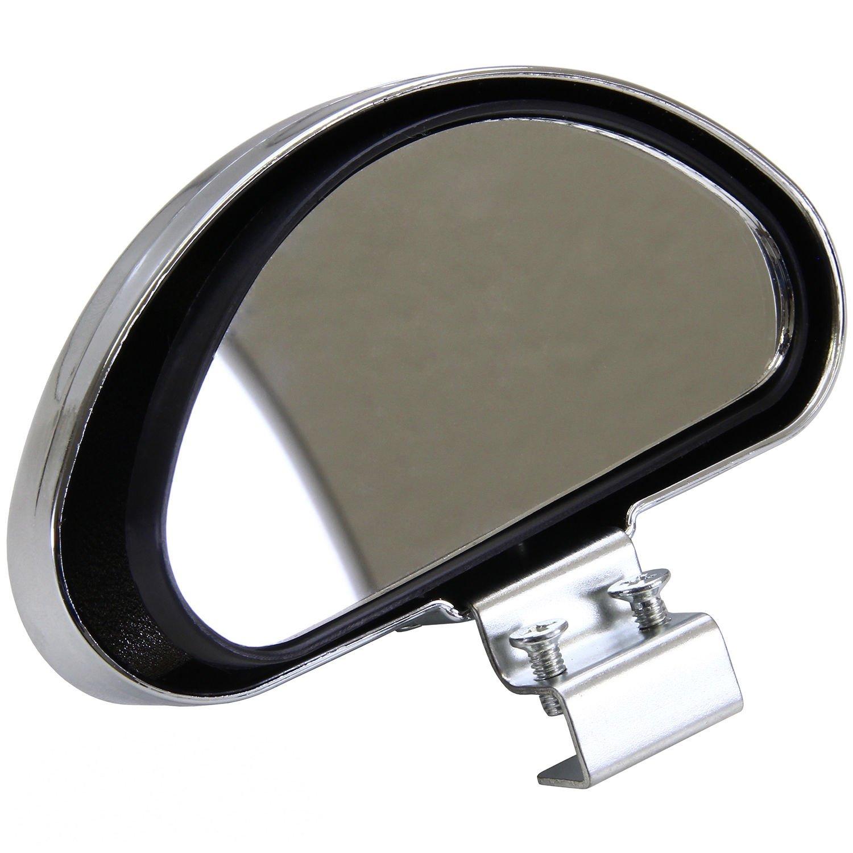 Specchietto supplementare per auto, per scuola guida, con grandangolo e visione del punto cieco del veicolo, cromato phil trade