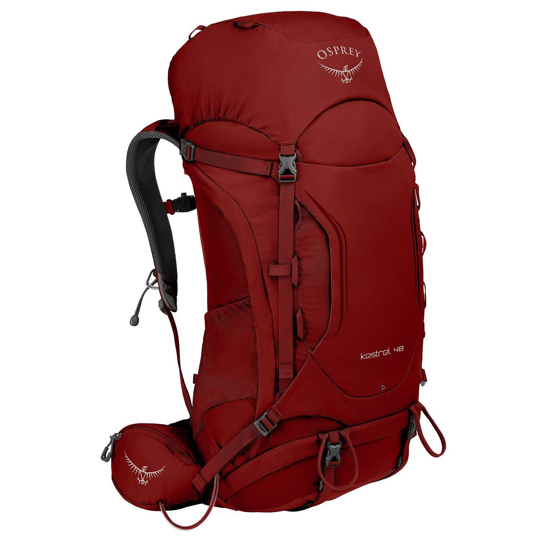 Osprey Kestrel 48 Hiking Backpack Medium/Large Rogue Red